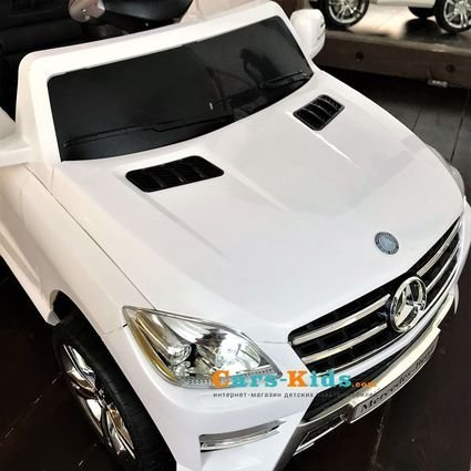Электромобиль Mercedes-Benz ML350 QX-7996-W (пульт, музыка, свет фар)
